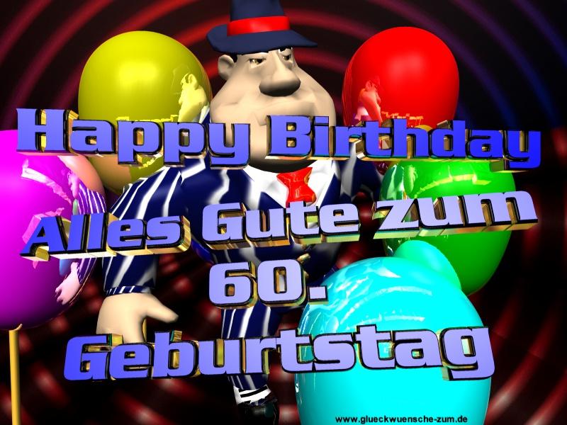 Herzliche Glückwünsche Zum 60 Geburtstag Unseres 1