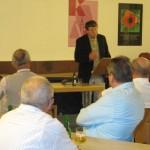 Vortrag vom Referenten Hubertus Weber